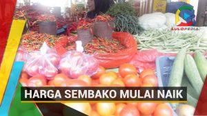 Harga Sembako Mulai Naik di Sejumlah Pasar Tradisional Kendari